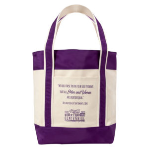Declaration Of Sentiments Canvas Tote